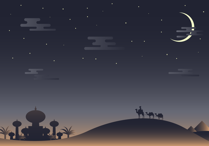... Nights Vector - Download Free Vector Art, Stock Graphics & Images