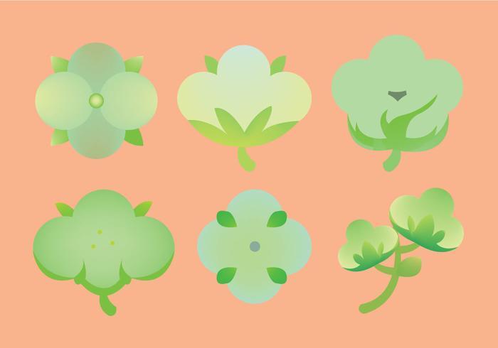 Free Cotton Plant Icon Vector