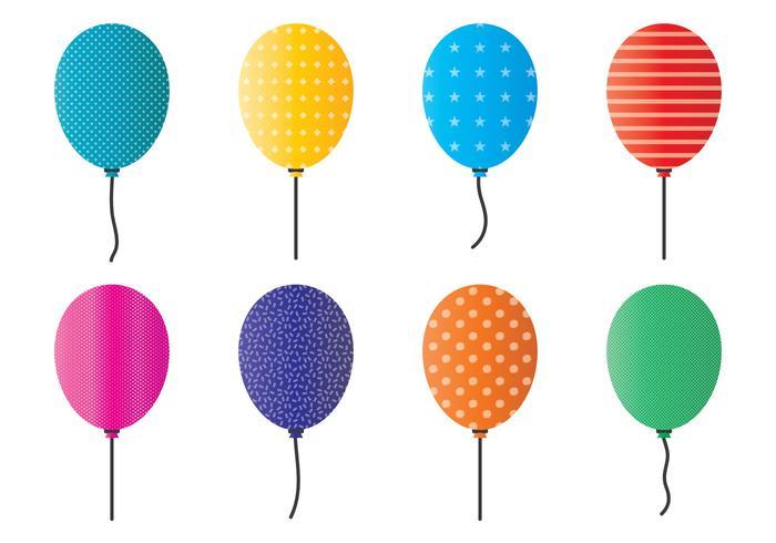 Vettore di palloncini