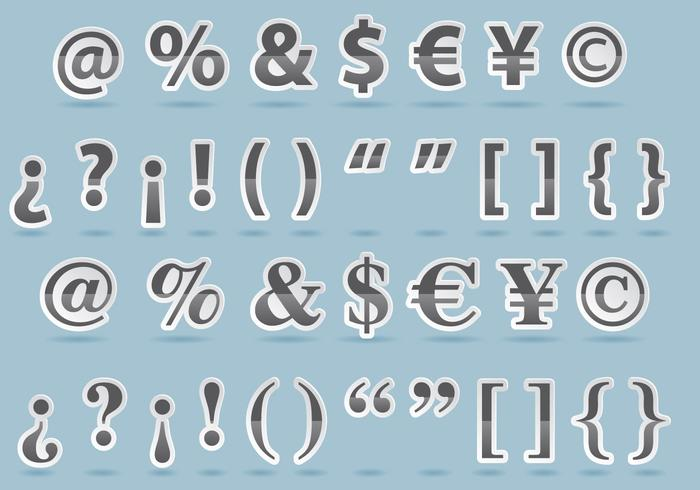 Punctuation Mark Vectors