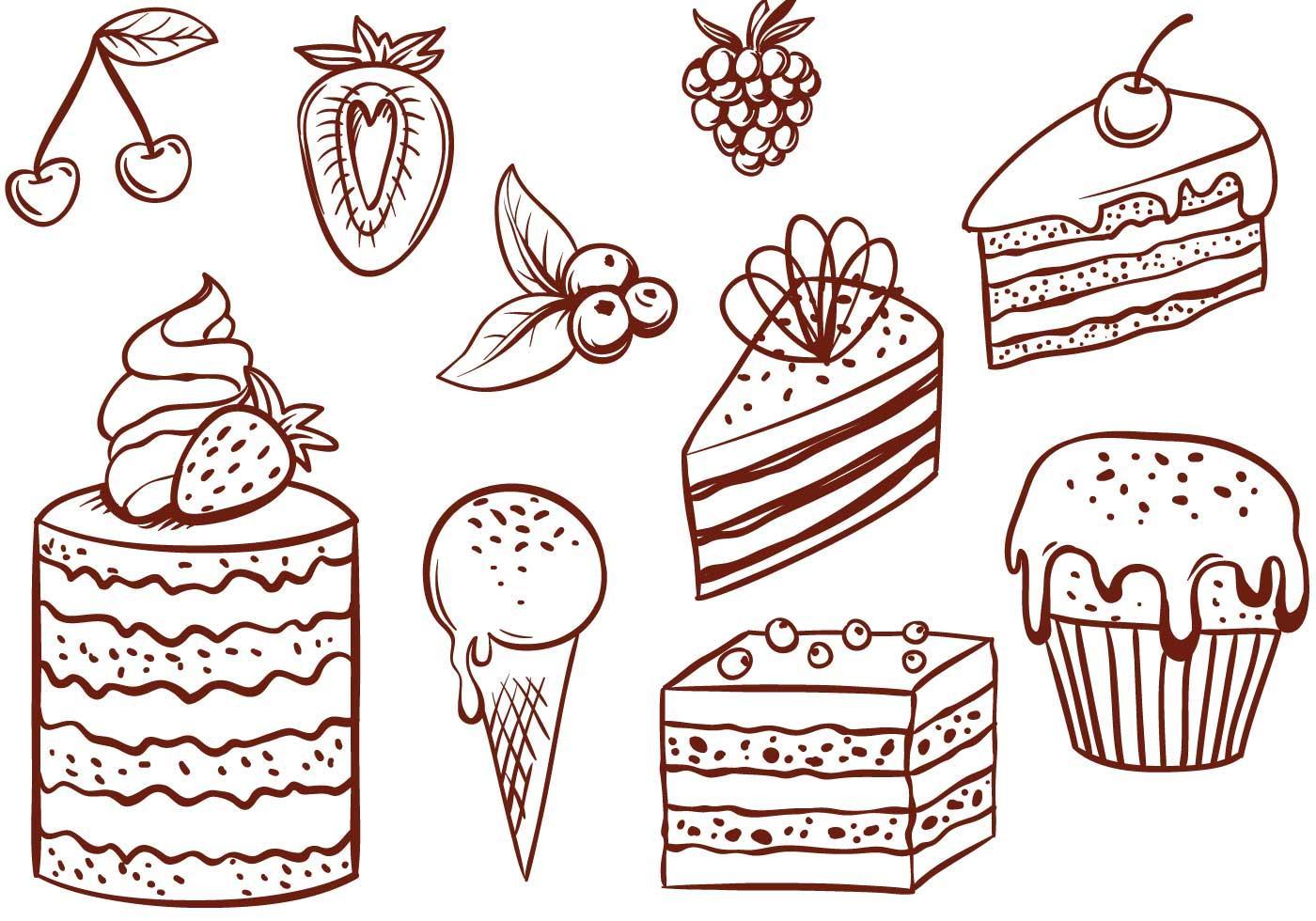 нетребовательный, десерт черно белая картинка котором, причем, льзя