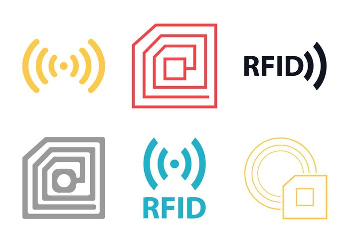 Rfid Free Vector Art 7724 Free Downloads