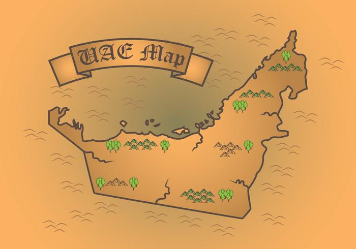 Uae fairy world map download free vector art stock graphics uae fairy world map sciox Gallery