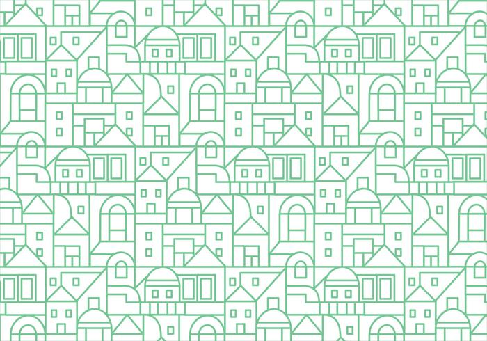 Buildings pattern background