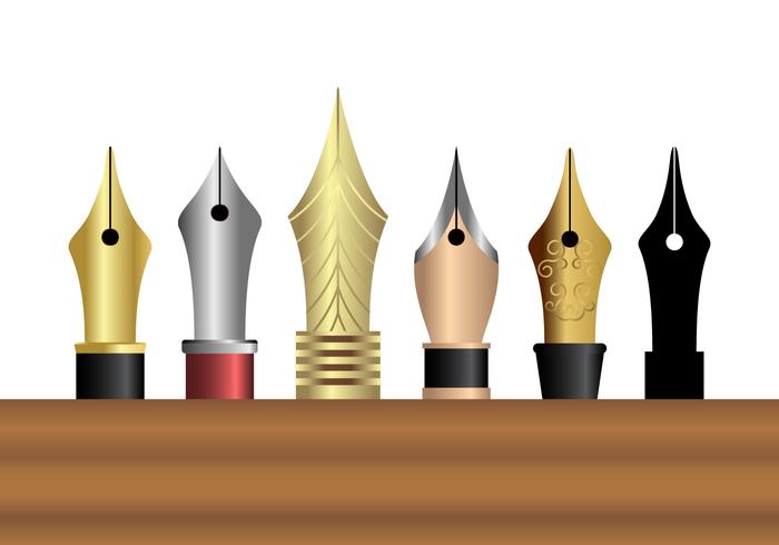 Livre Pen Nib Vector