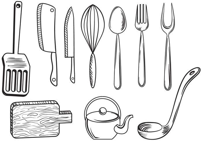 Free Kitchenware Vectors