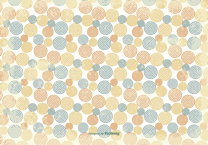 Old Retro Style Background Pattern