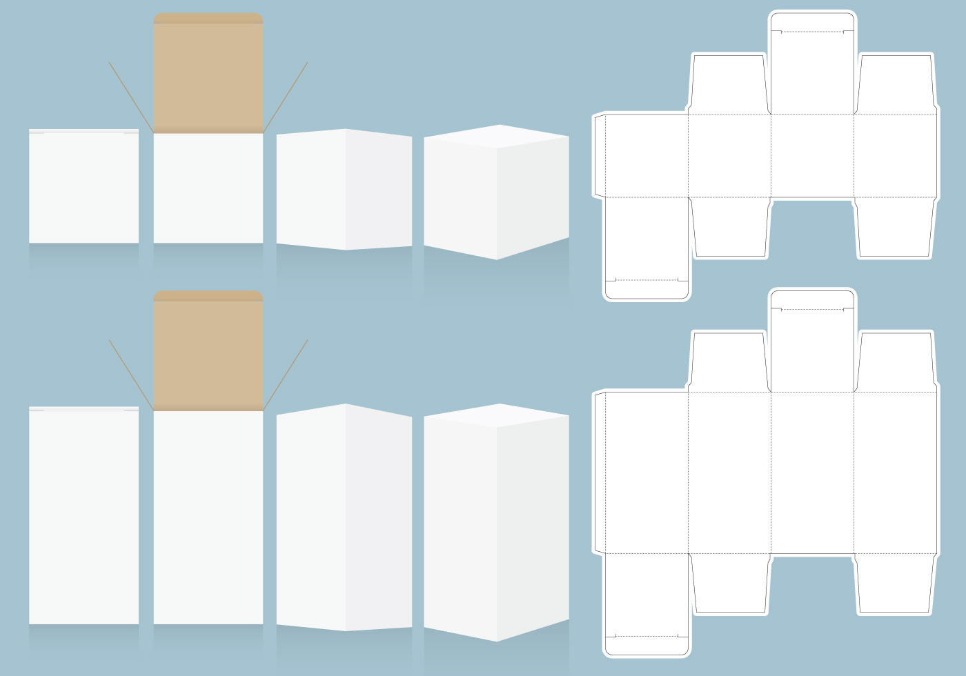 Packaging Templates Free Vector Art 25060 Free Downloads