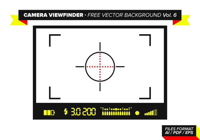 Camera Viewfinder Free Vector Background Vol. 6