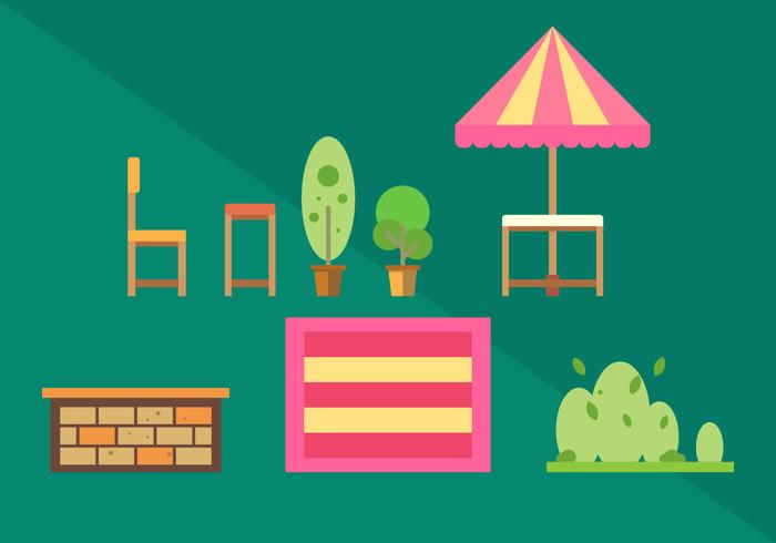 Gratis Familie Picnic Vector Illustraties # 2