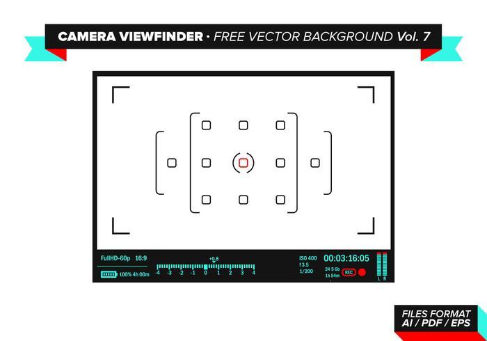 Cámara Visor Vector Vector Libre Vol. 7