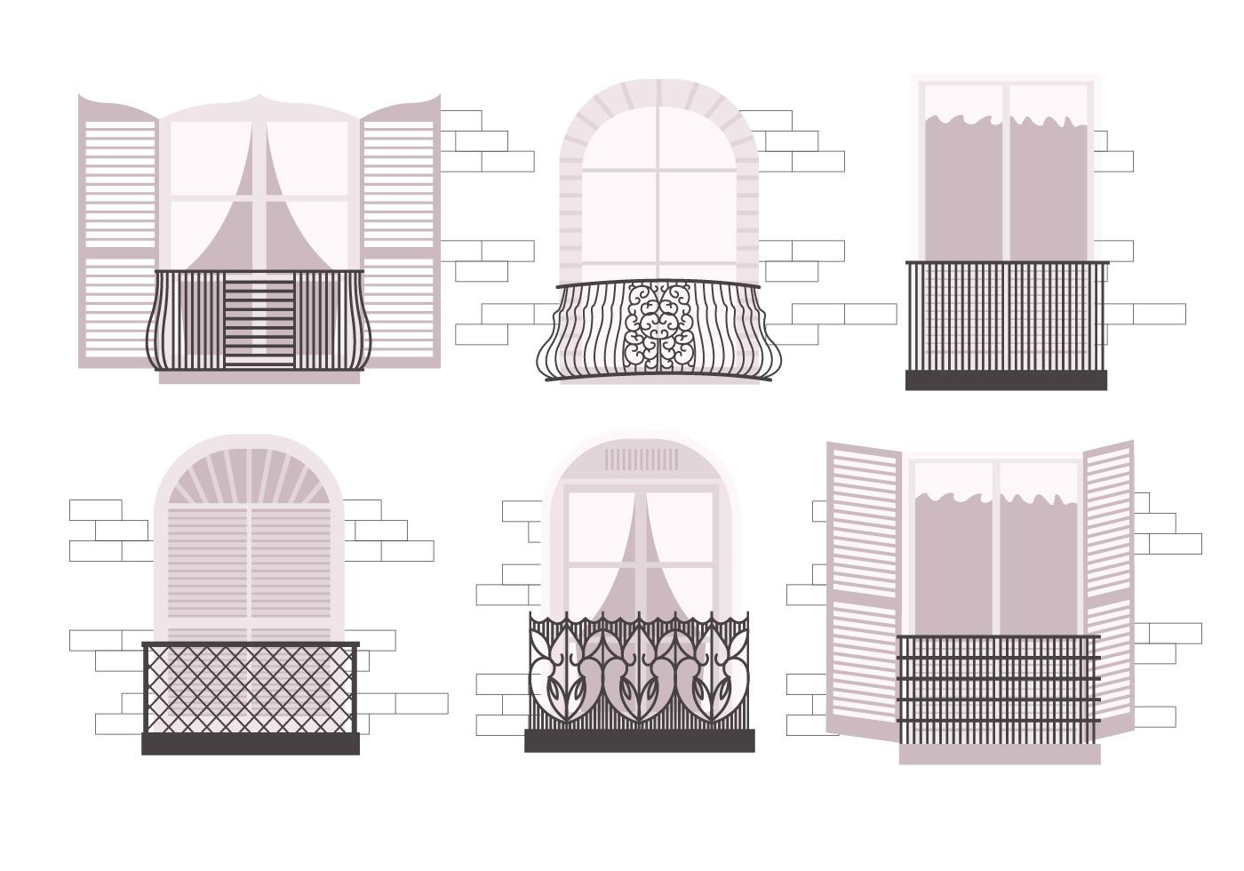 Balcony vectors download free vector art stock graphics for Balcony vector
