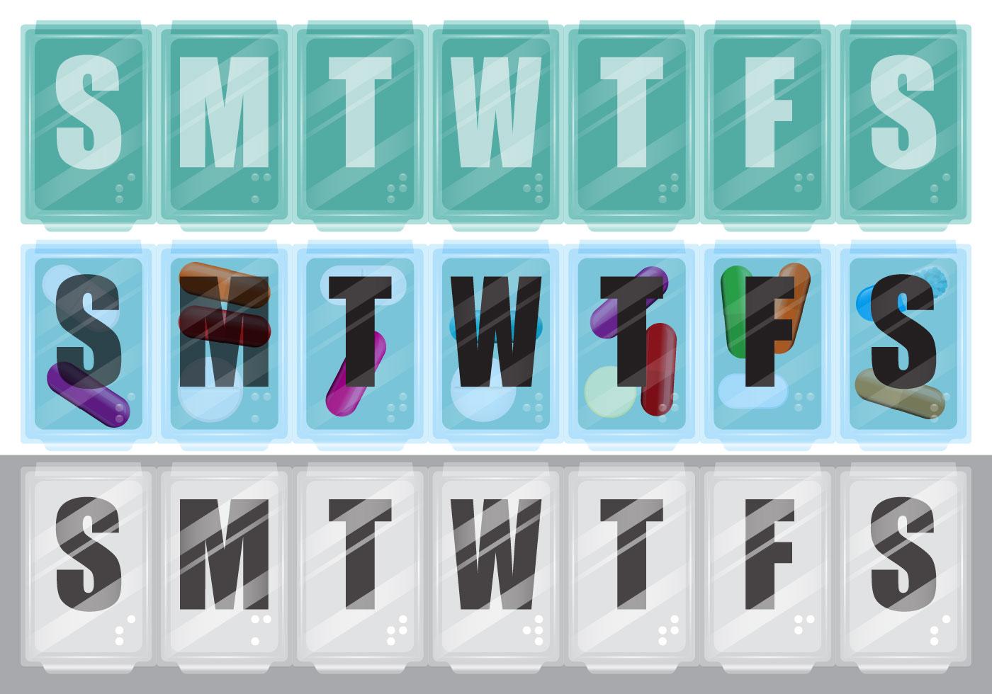 pill box vectors