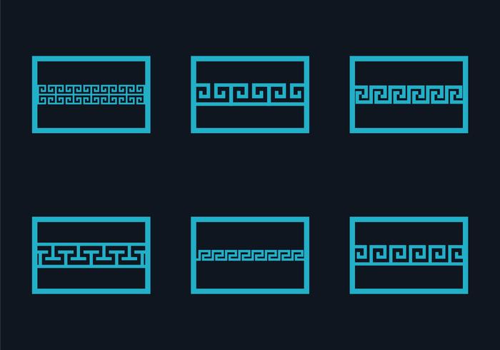 Free Greek Key Illustration Vector