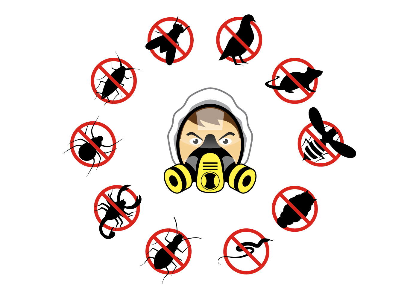 pest control free vector art 1321 free downloads