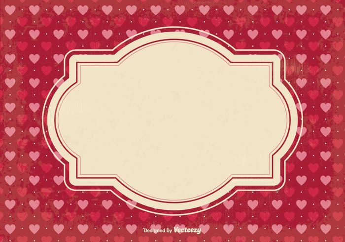 Fondo del pedazo del día de tarjeta del día de San Valentín vector