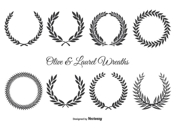 greek laurel wreath how to make