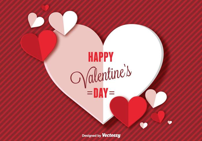 Happy Valentines Day Background Download Free Vector Art Stock