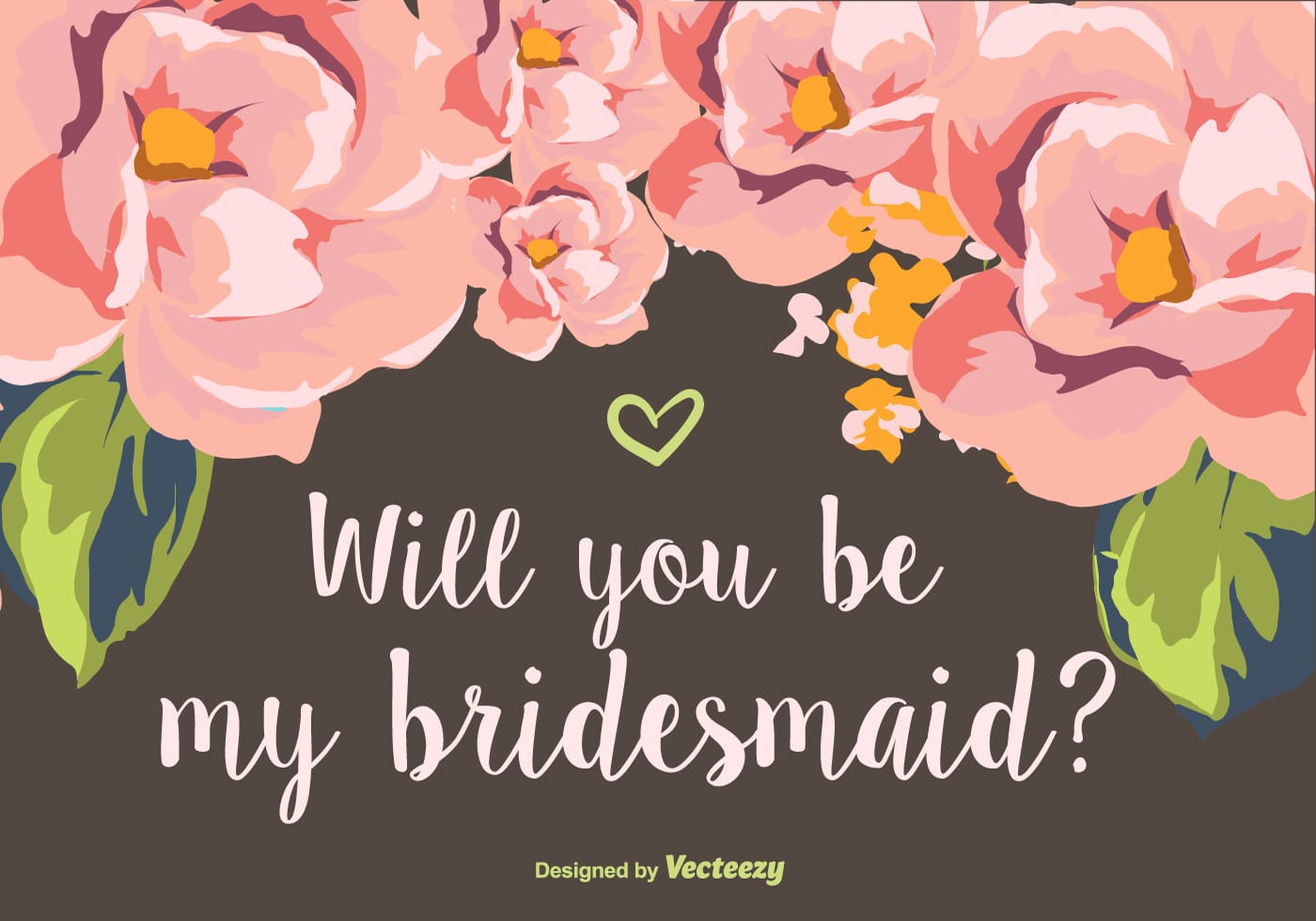 Will You Be My Bridesmaid Download Free Vector Art Stock Graphics
