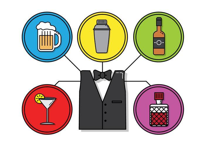 Barman Vector