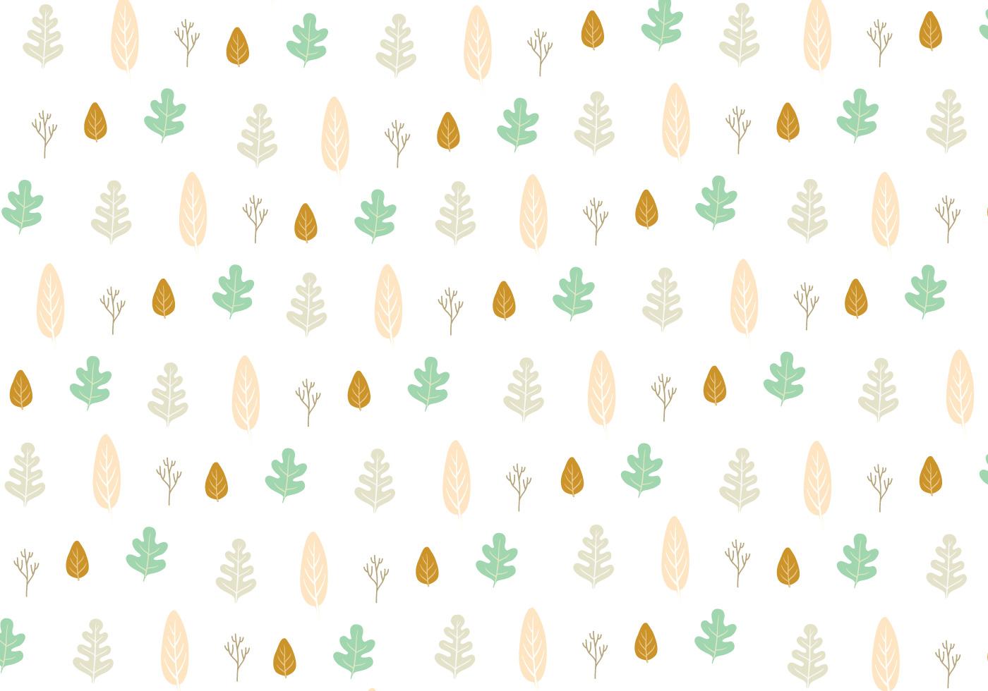leaf icon pattern background