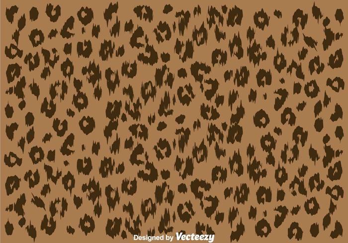 Leopard hudmönster