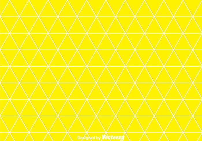 Yellow Triangles Background
