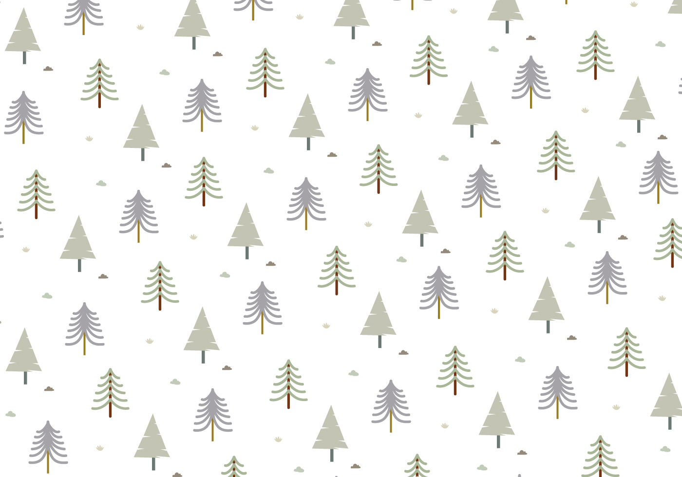 Tree Pattern Background Vector Download Free Vector Art