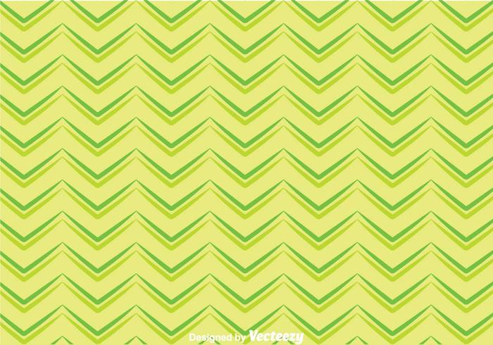 Green Chevron Pattern