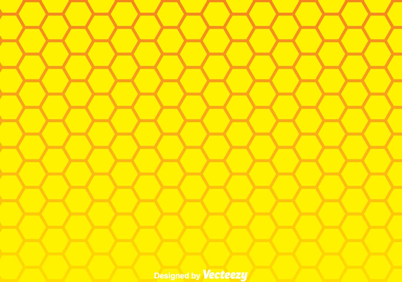 Yellow Honeycomb Wallpaper by coolfunawesometime | Society6 |Yellow Honeycomb Wallpaper