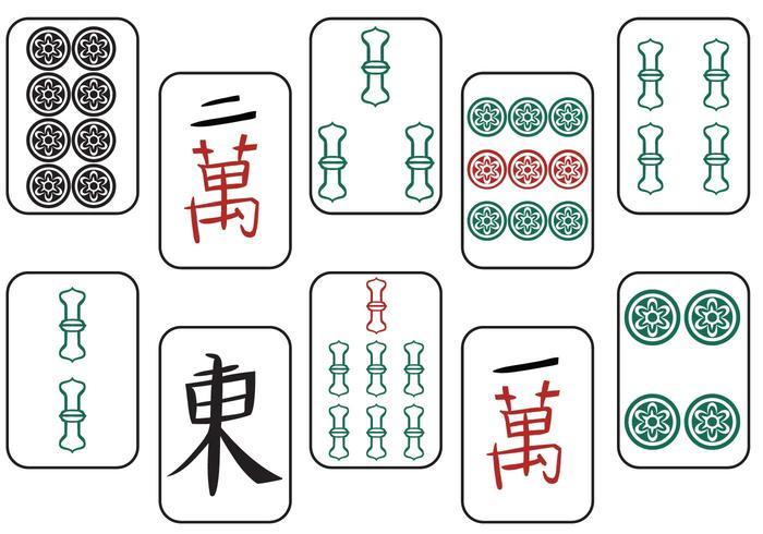 Libre Mahjong II Vectores