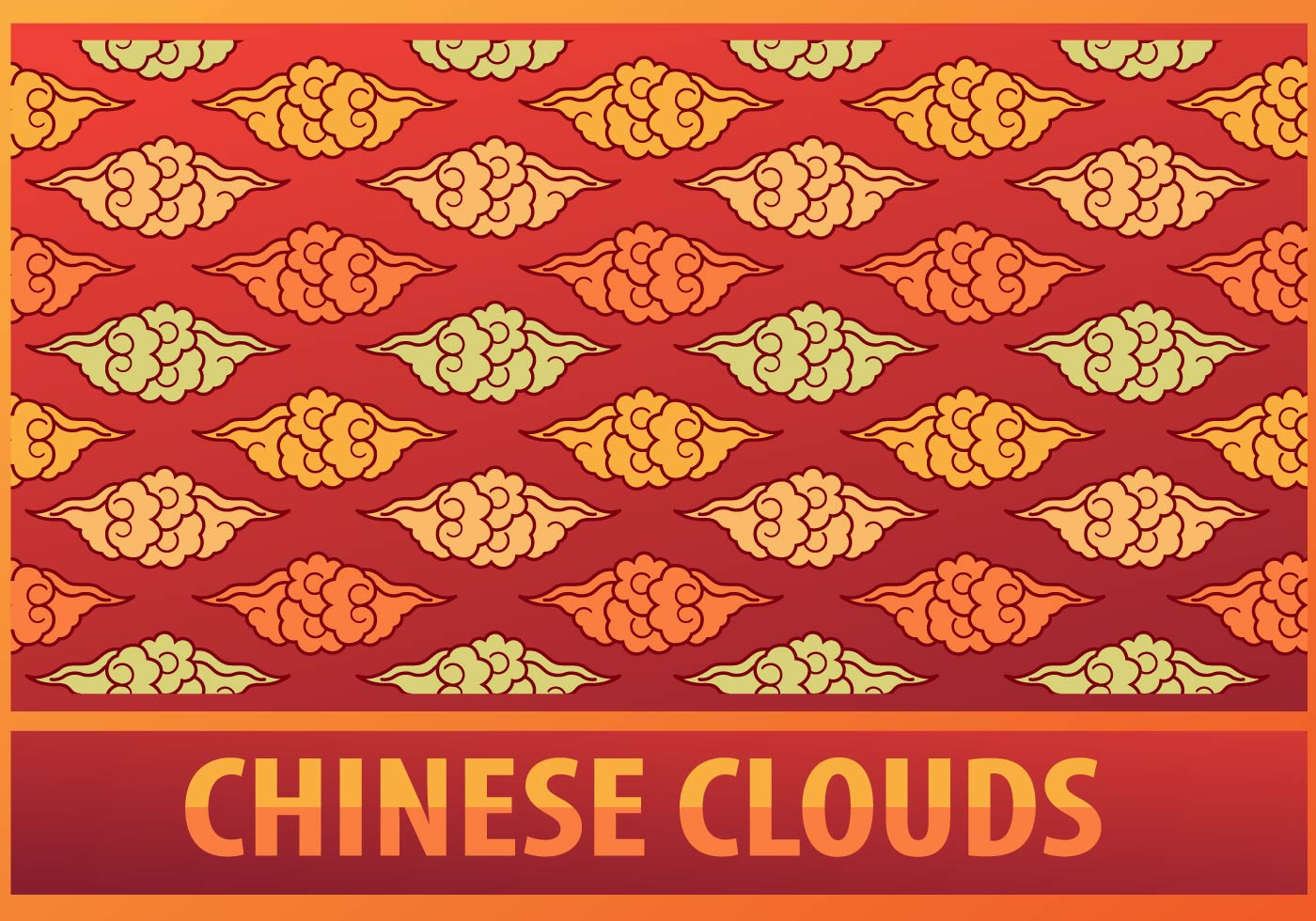 Chinese clouds pattern download free vector art stock for Chinese vector