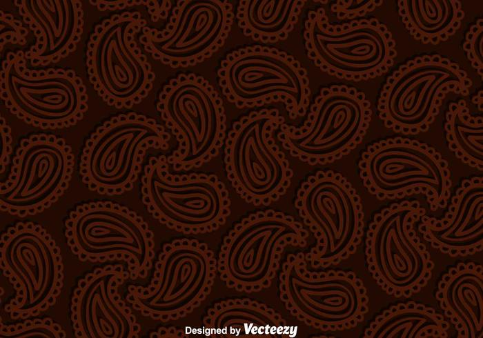 Paisley Brown Background