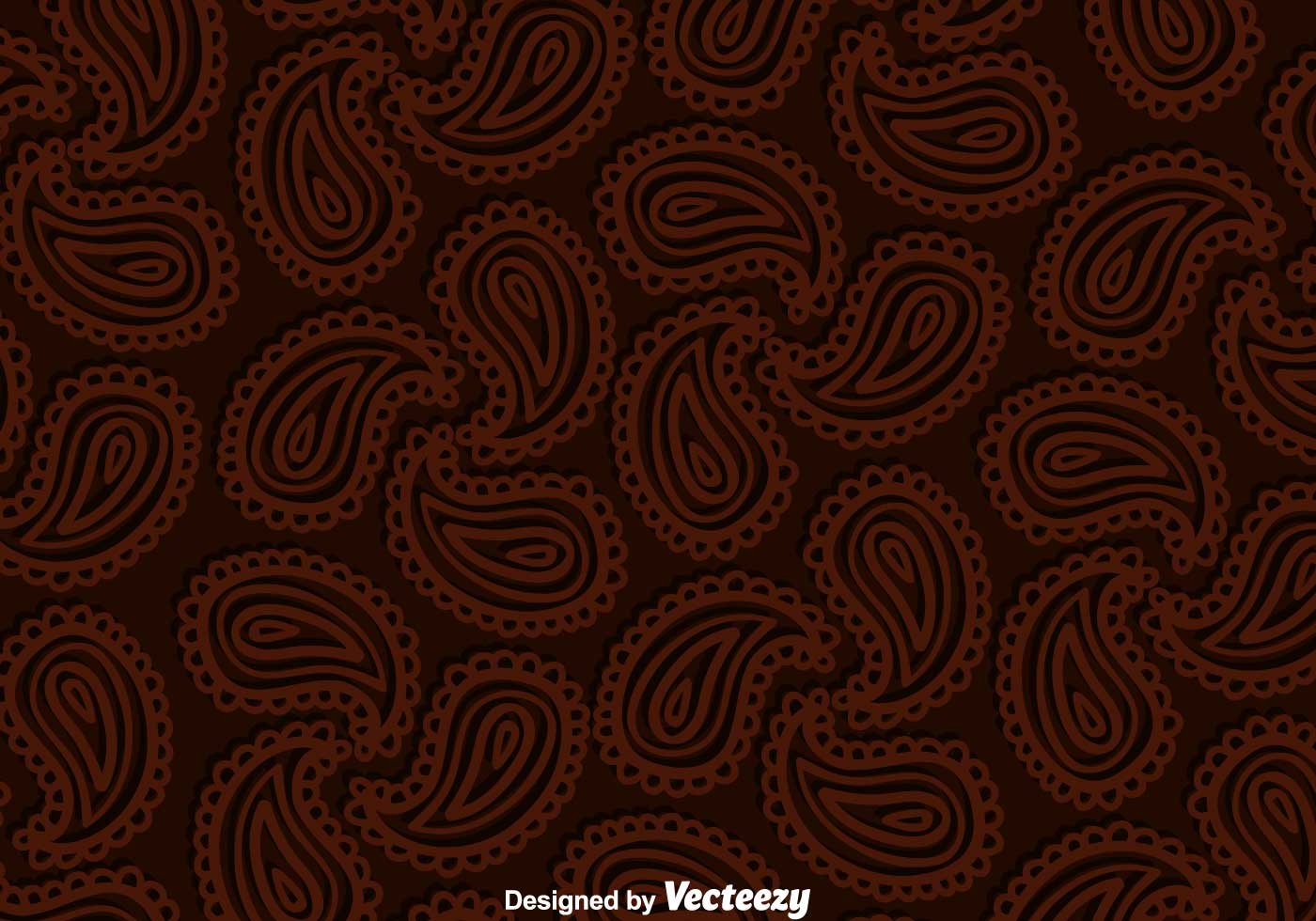Paisley Brown Background Download Free Vector Art Stock