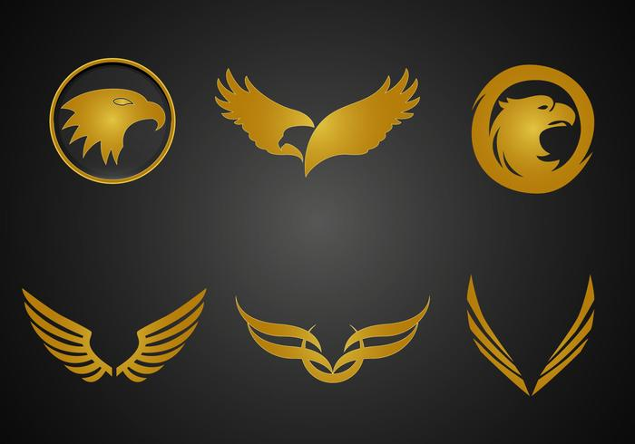 Vector Golden Eagle gratis
