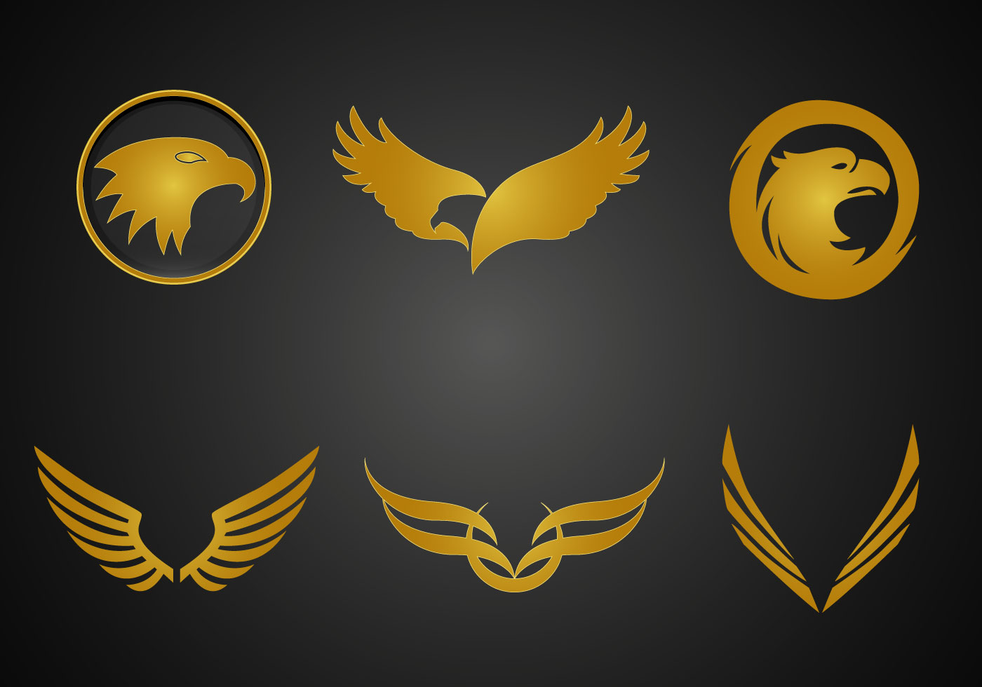 Free Golden Eagle Vector Download Free Vector Art Stock