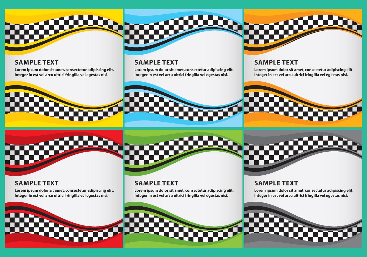 Race Template 03 - Download Free Vector Art, Stock ...
