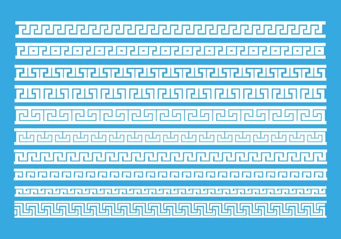 Greek Keys Pattern Vector