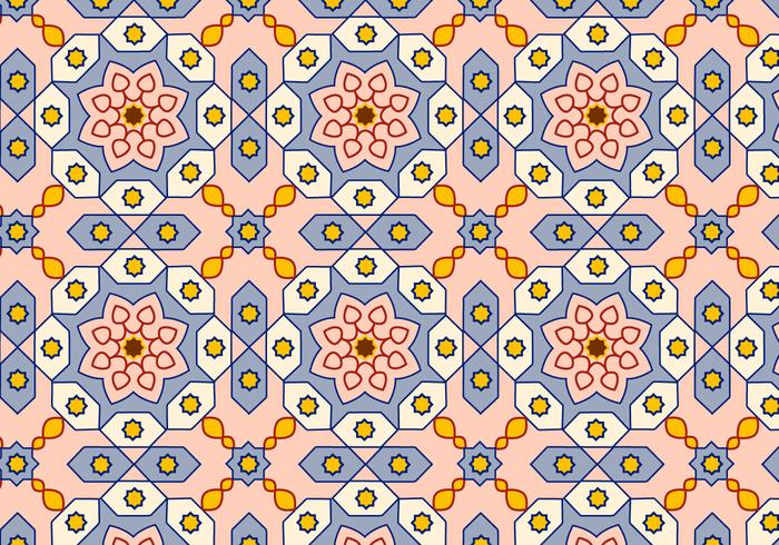 Arabic Pattern Background Vector
