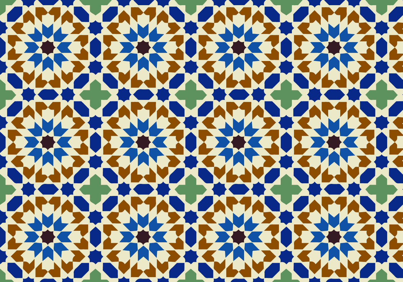 Moody Moroccan Pattern Background Vector Download Free