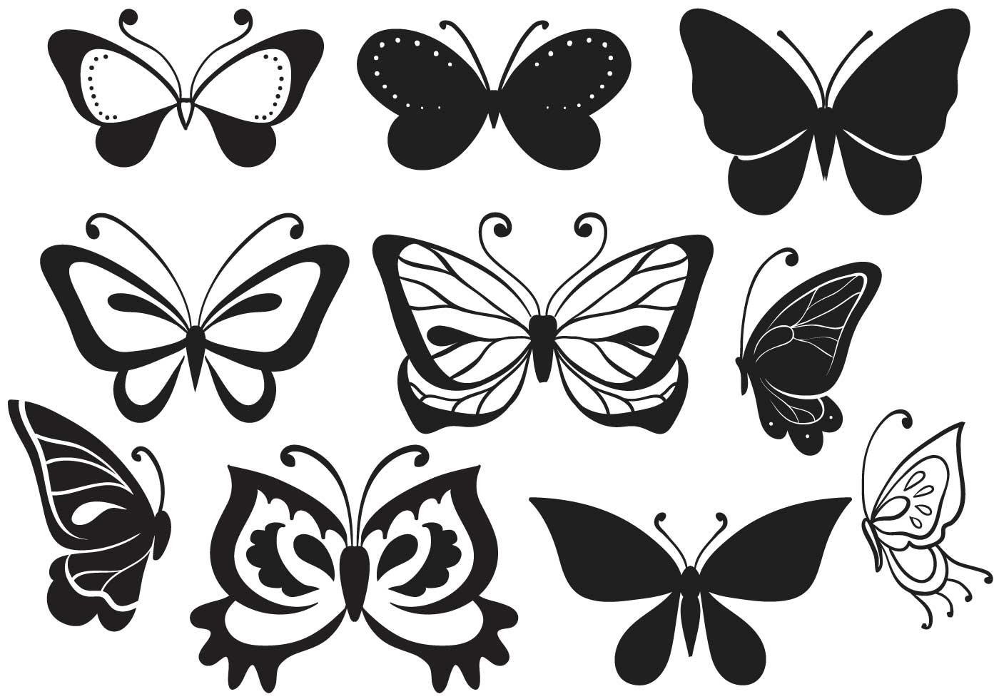 Kostenlose Schmetterlings Vektoren - Kostenlose Vektor-Kunst, Archiv ...