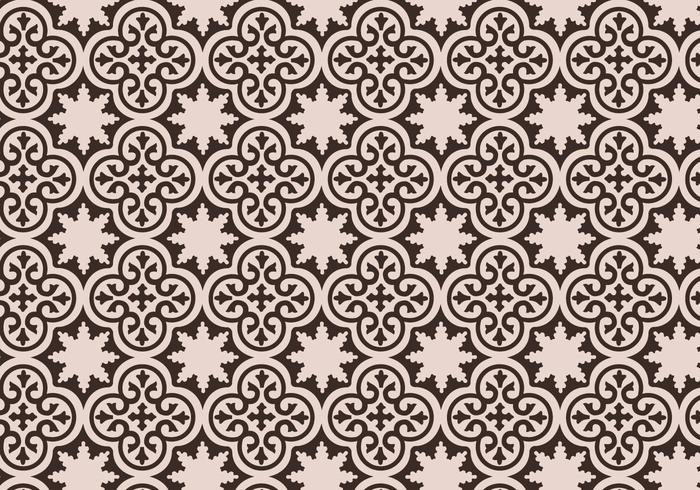 Mauve Moroccan Pattern Background Vector