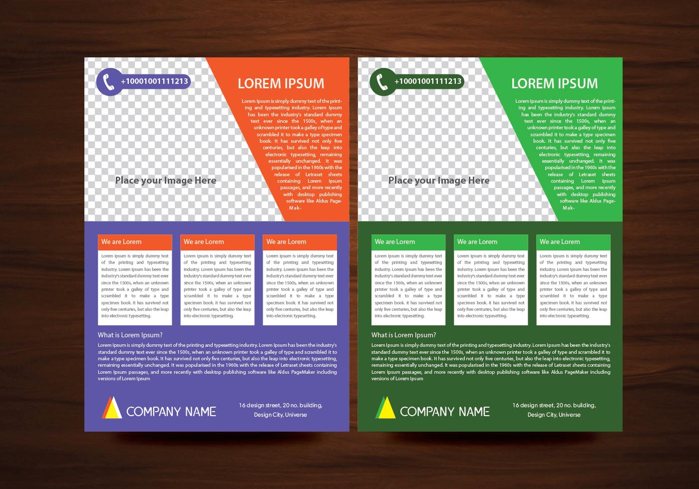 Vector brochure flyer design layout template in a4 size download free vector art stock for Free flier design