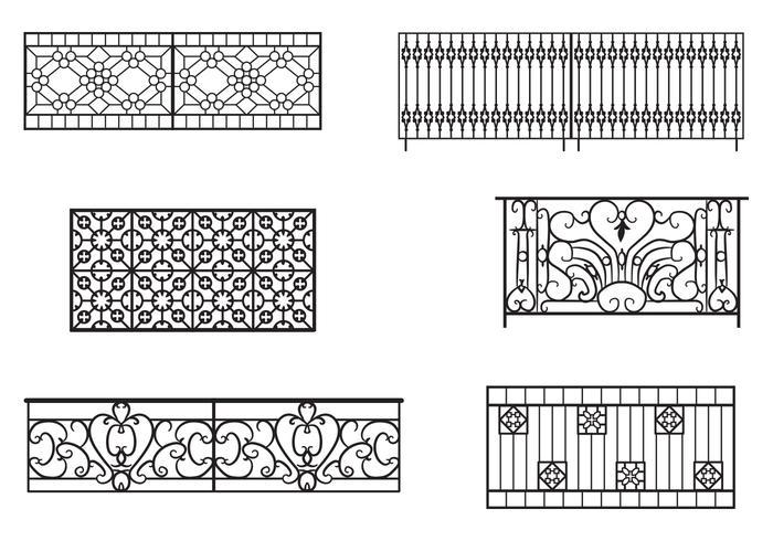 Balcony Railing Vectors Download Free Vector Art Stock