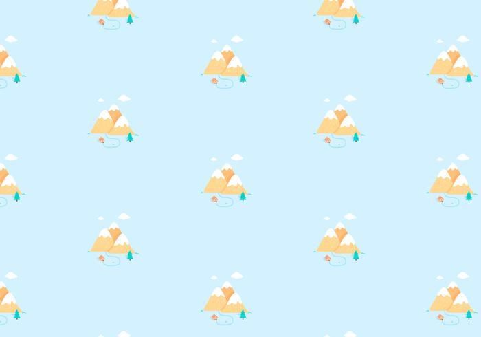 Mountain Pattern Background