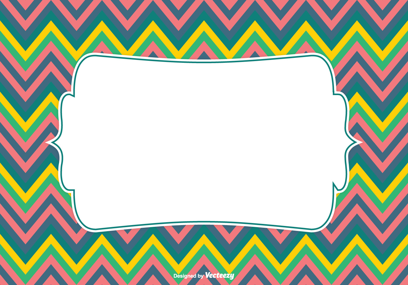 colorful chevron pattern background vector download free