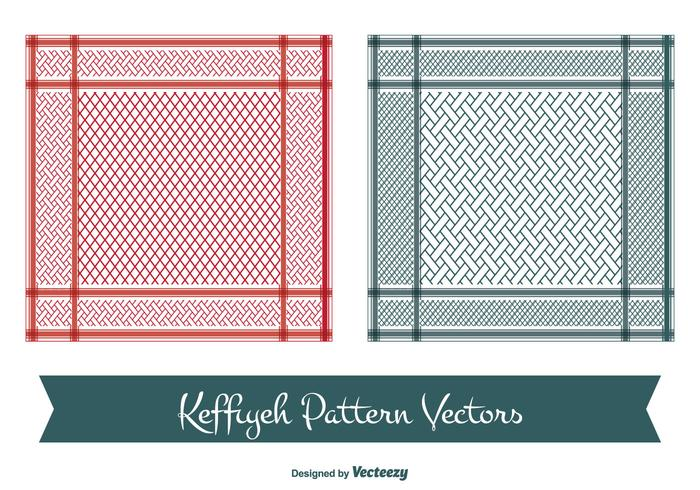 Keffiyeh Vector Patterns