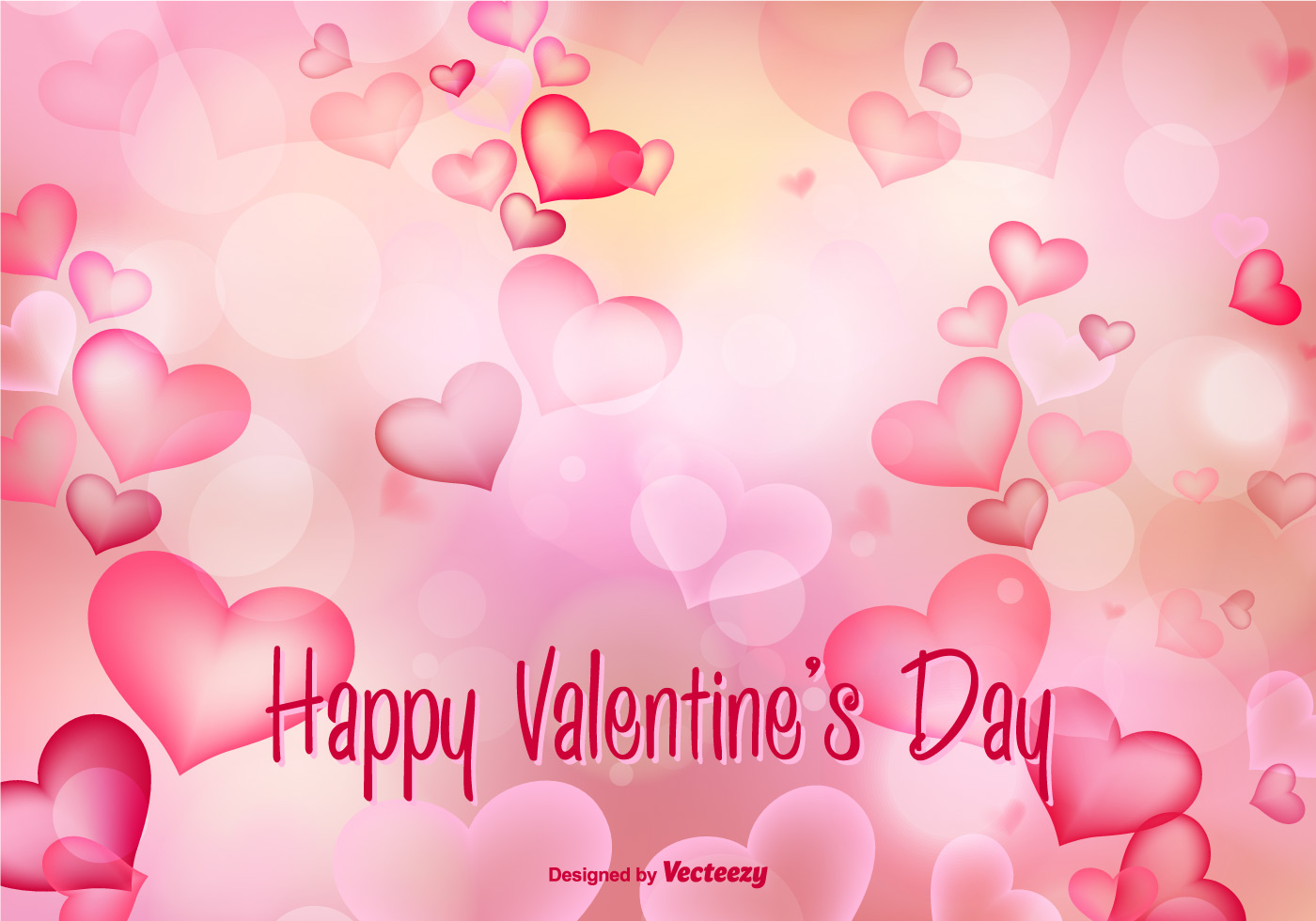 beautiful valentine 39 s day vector illustration download. Black Bedroom Furniture Sets. Home Design Ideas
