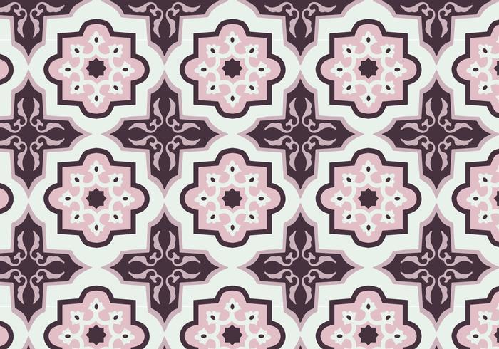 Batik patroon vector