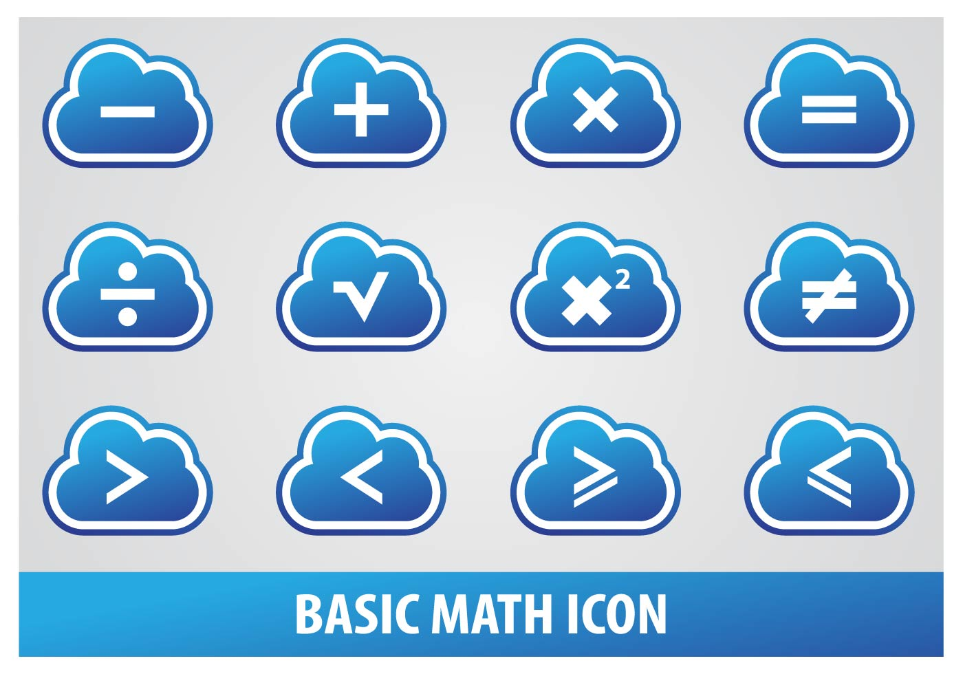 Basic Math Icon - Download Free Vector Art, Stock Graphics & Images
